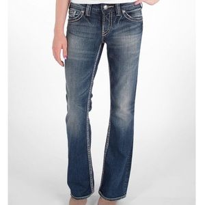 "Silver Jeans Suki 17"" Surplus Boot Cut Jeans"